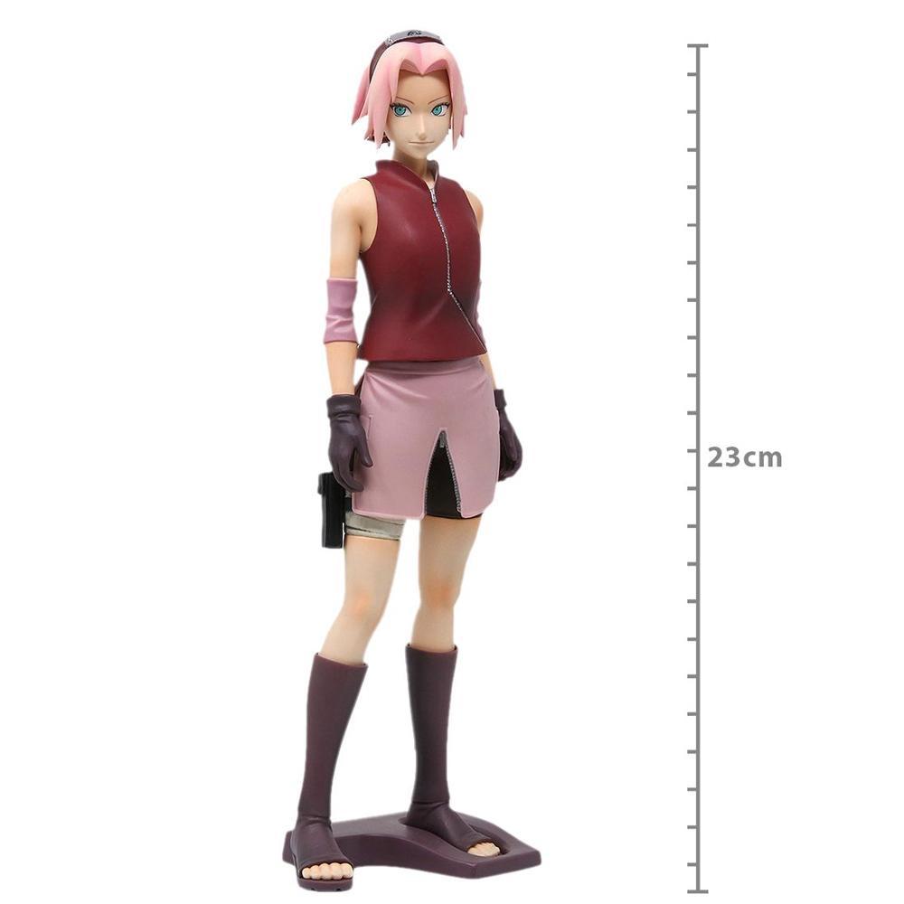 Boneco Action Figure Naruto Shippuden Grandista Shinobi Relations - Sakura Haruno Banpresto