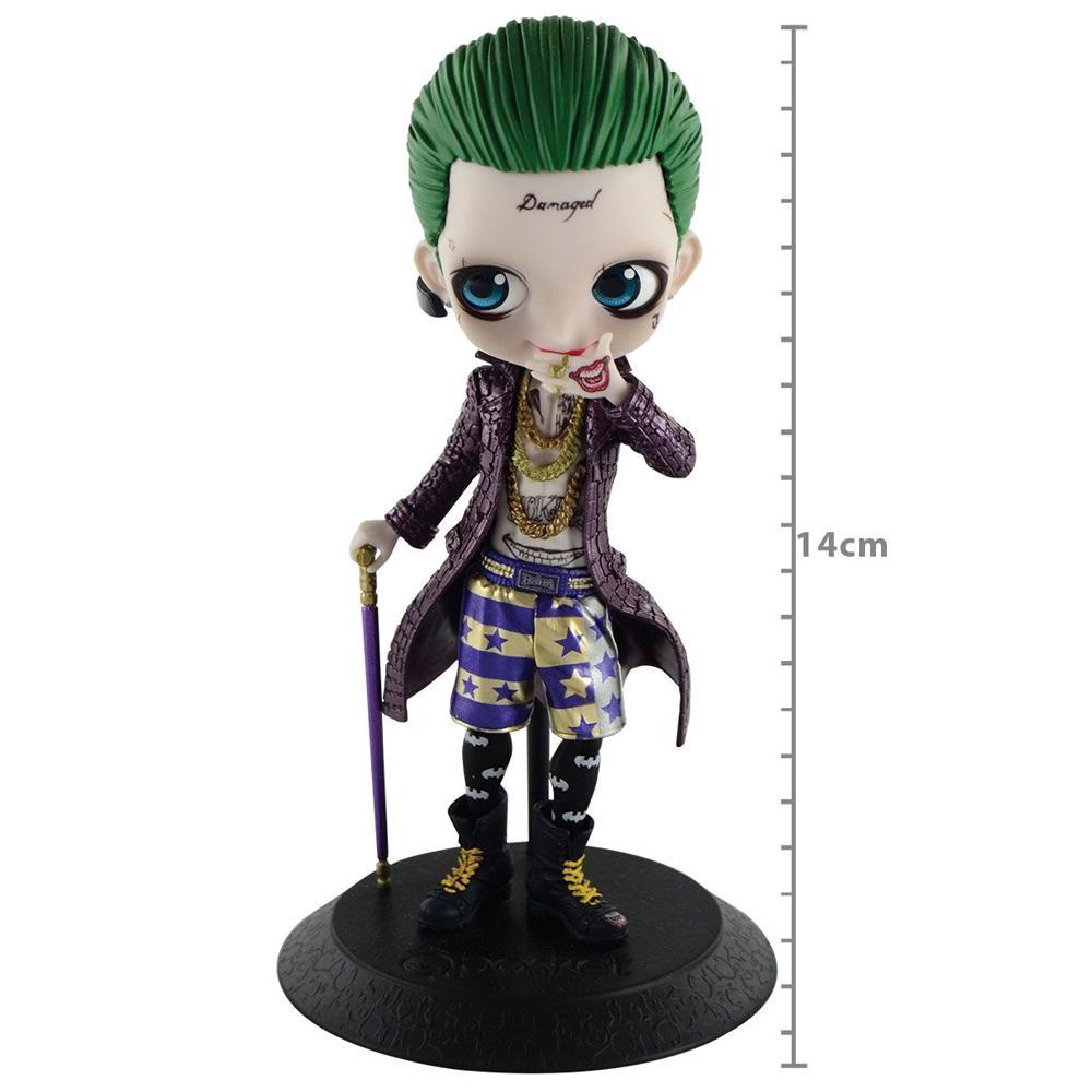 Boneco Action Figure Suicide Squad Joker Special Q Posket - 57509 - Banpresto