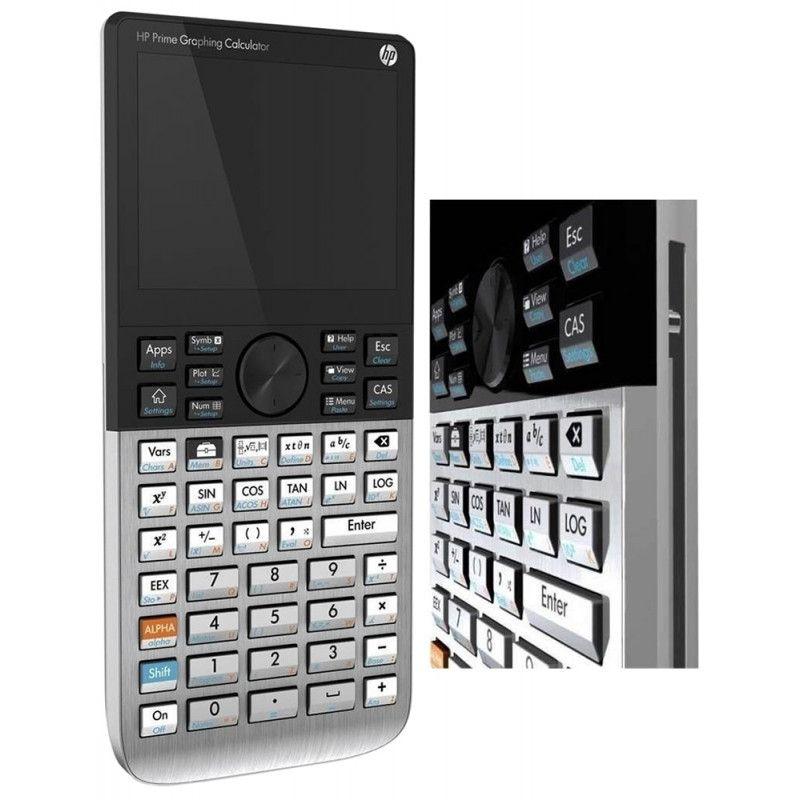 Calculadora Gráfica HP Prime G2 Graphing Calculator 2AP18AA B1K - Preto