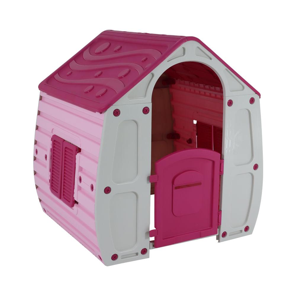 Casinha de Brinquedo Magical Rosa - Bel Fix