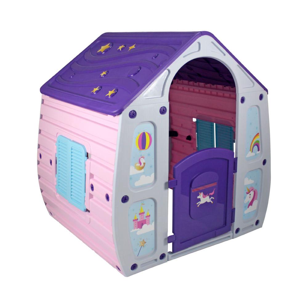 Casinha de Brinquedo Unicórnio - Bel Fix