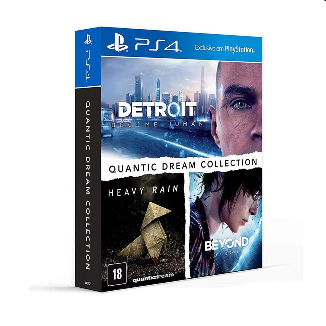 Coletânea de jogos Quantic Dream: Detroit Become Human + Heavy Rain + Beyond Two Souls- PS4