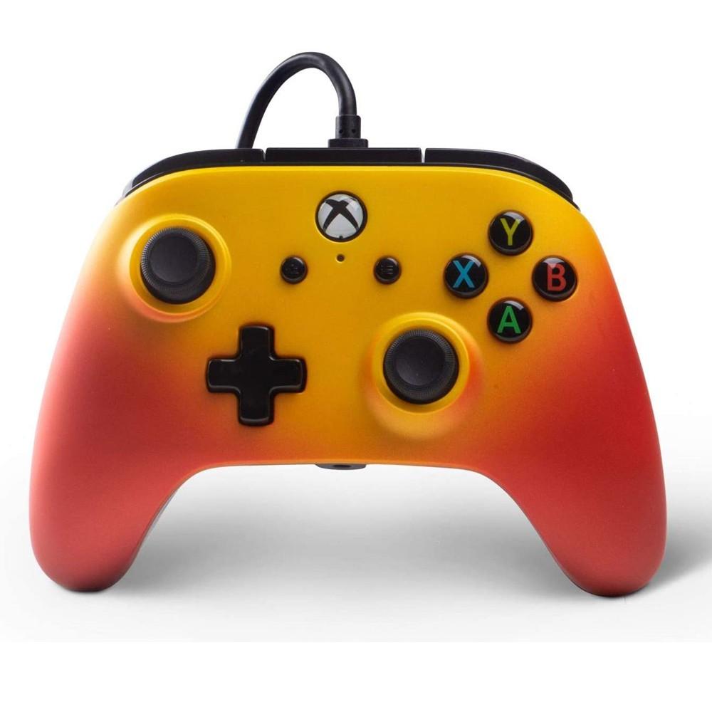 Controle Com Fio Aprimorado PowerA Para Xbox One - Solar Fade