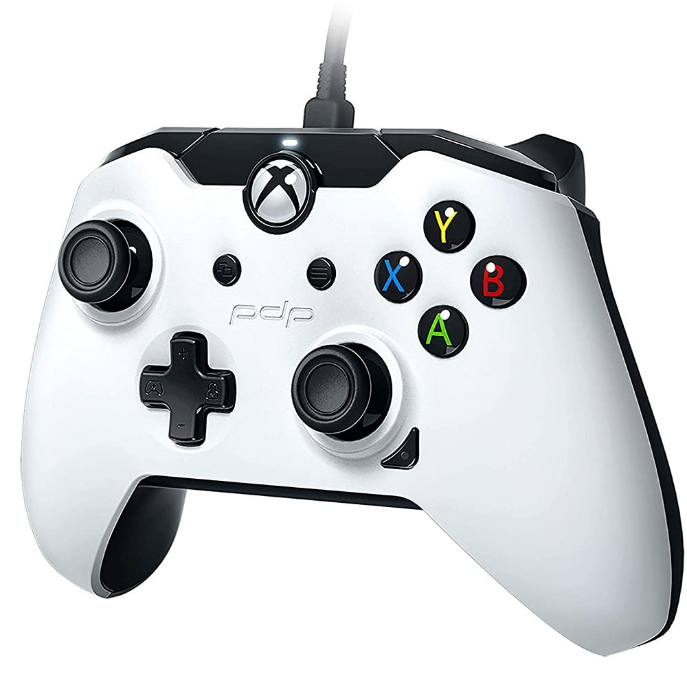 Controle Com Fio para Xbox One e PC Branco  -  PDP