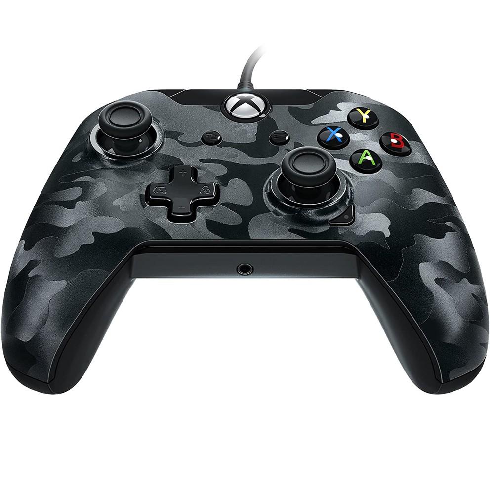 Controle Com Fio para Xbox One e PC Camuflado Preto  -  PDP