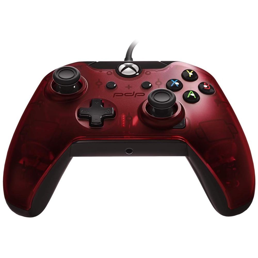 Controle Com Fio para Xbox One e PC Vermelho  -  PDP