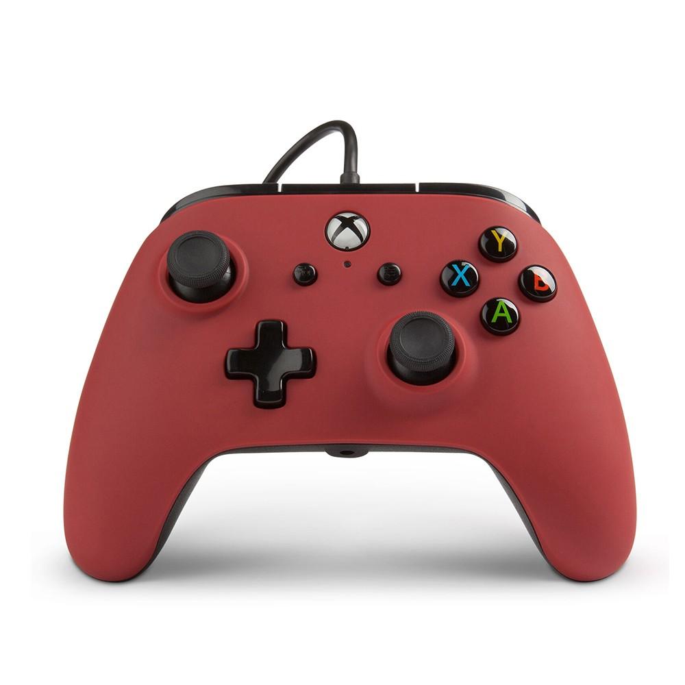 Controle Com Fio PowerA Para Xbox One - Vermelho