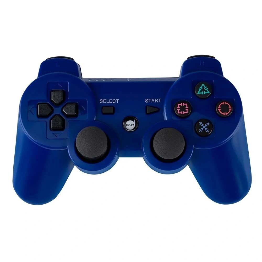 Controle Dual Shock Dazz 6AXIS Azul