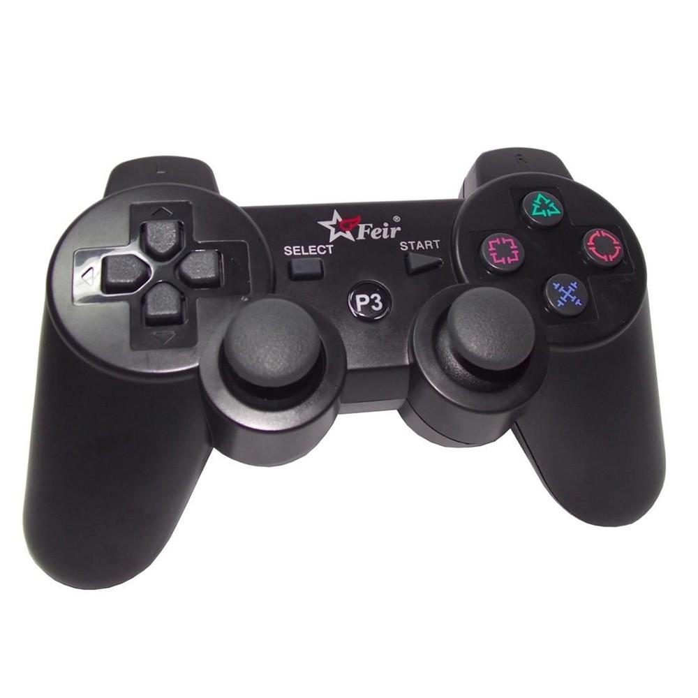 Controle Feir Para PS3 Sem Fio  Preto - PS3 (Usado)