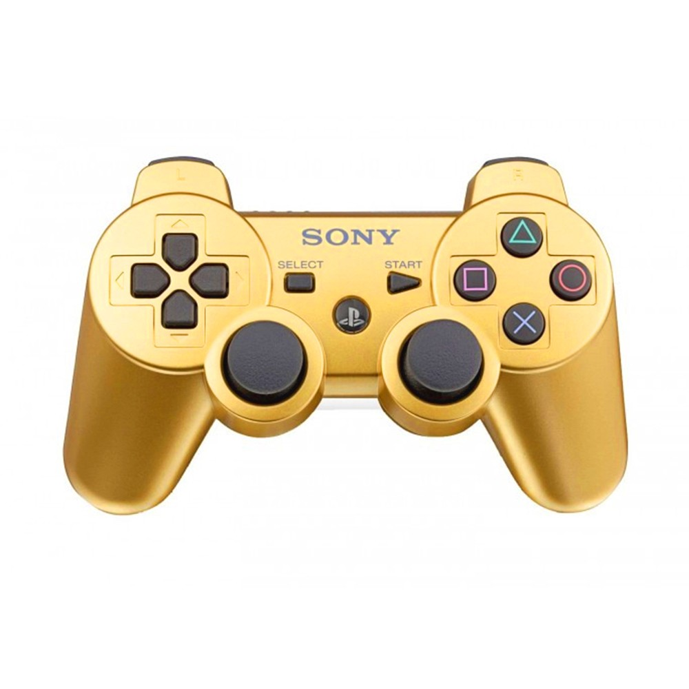 Controle Genérico Dualshock 3 Dourado PS3 (Usado)
