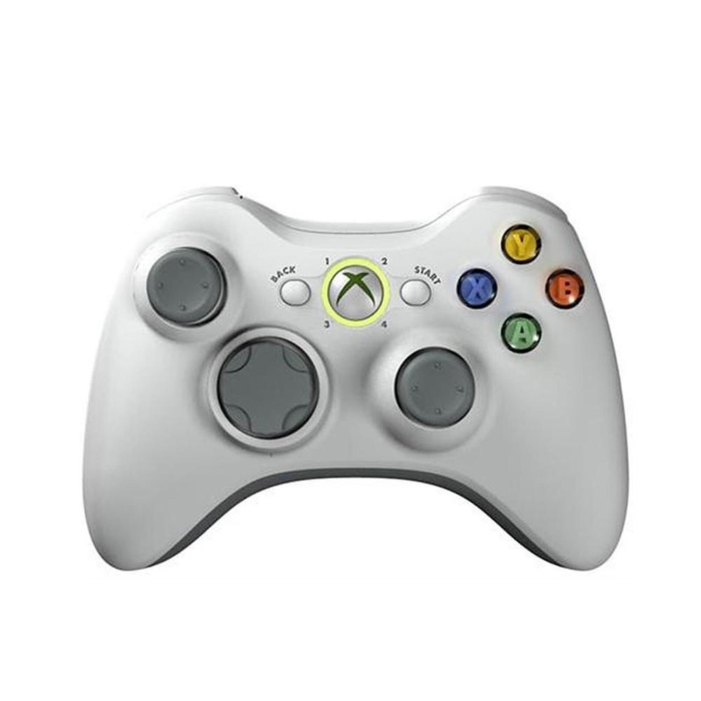 Controle Microsoft  Xbox 360 Wireless Branco  (Usado)