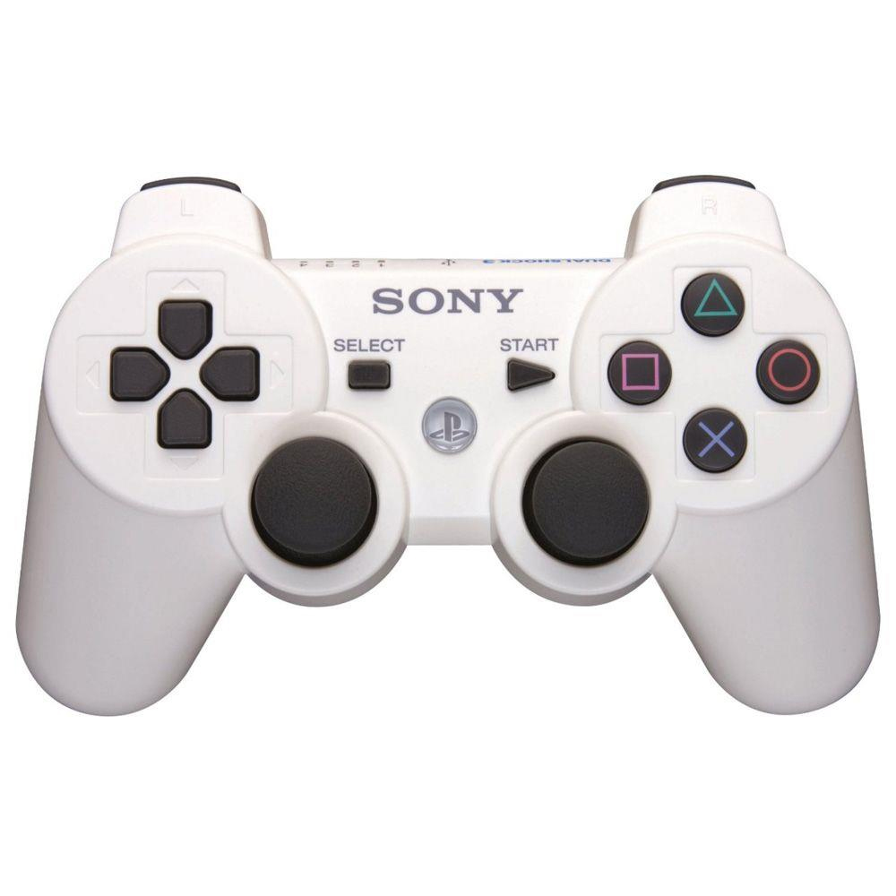 Controle Dualshock 3 Compatível para PS3 - Branco