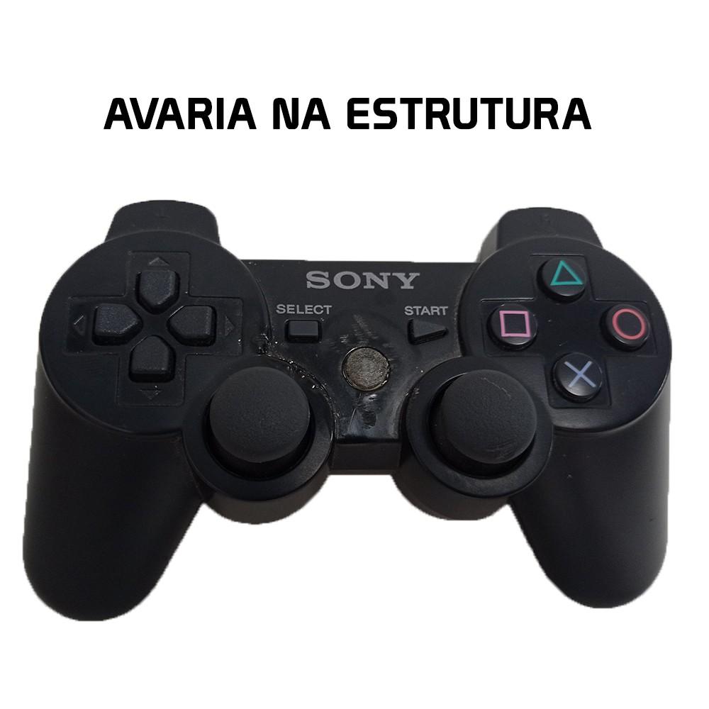 Controle Sony Dualshock 3 Preto PS3 (Usado)