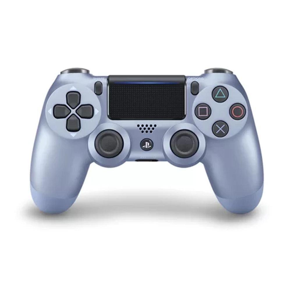 Controle Sony Dualshock 4 Azul Titânio sem fio (Com led frontal) - PS4