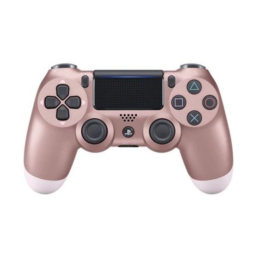 Controle Sony Dualshock 4 Rosa Dourado sem fio (Com led frontal) - PS4