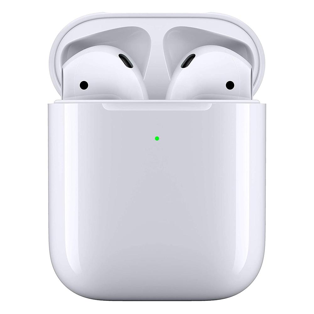 Fone de Ouvido Apple Airpods 2 Branco Case com Carregamento Wireless