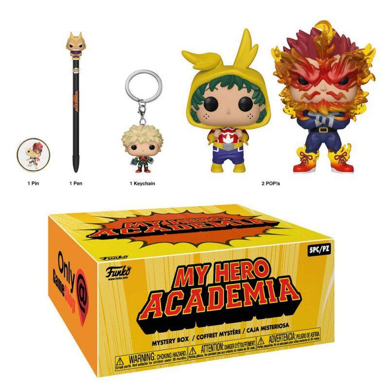 Funko Box Colecionadores My Hero Academia Exclusiva