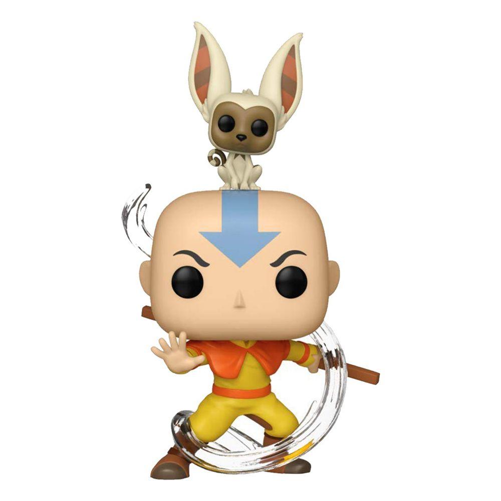 Funko Pop Avatar - Aang e Momo 534