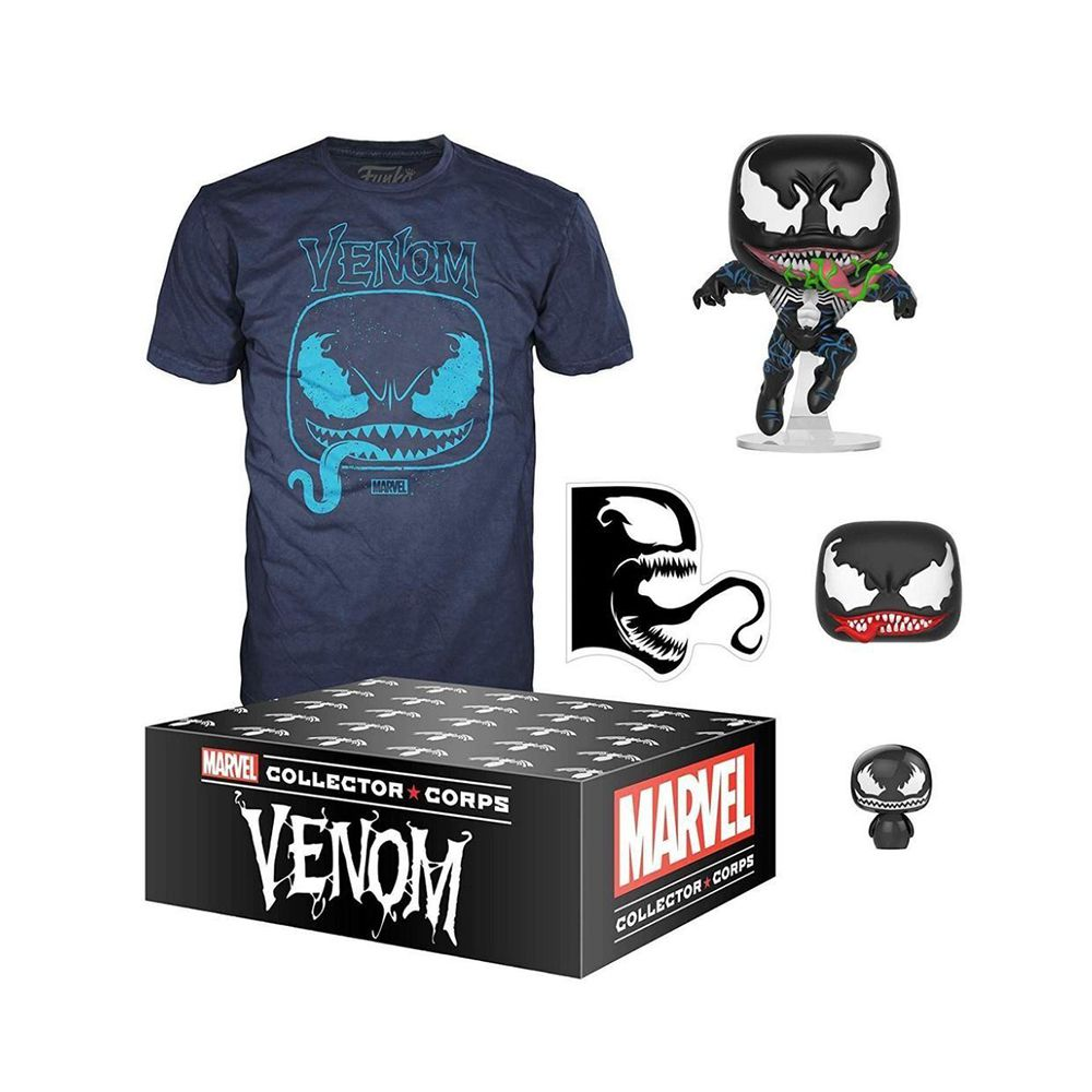 Funko Pop Box Colecionadores- Venom Box- Camiseta M