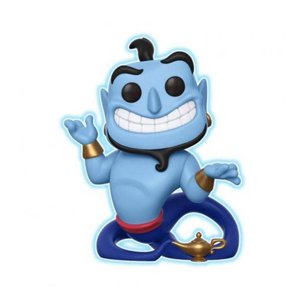 Funko Pop Disney Aladdin - Genio da Lâmpada 476 - Brilha no escuro