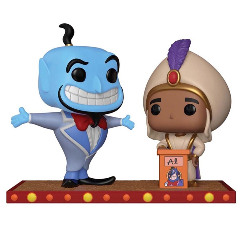Funko Pop Disney Momentos Aladdin -Aladdin e Gênio no primeiro desejo 409