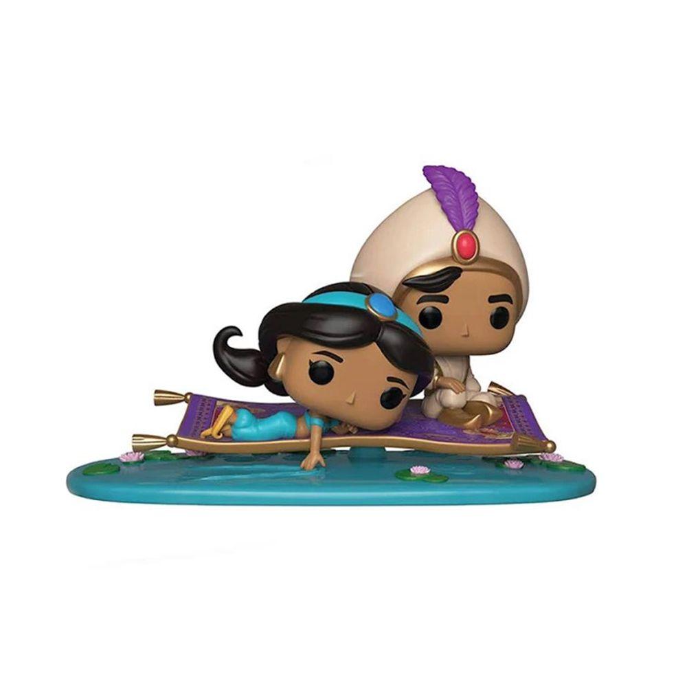 Funko Pop Disney Momentos - Aladdin e Jasmine no Tapete Magico 480