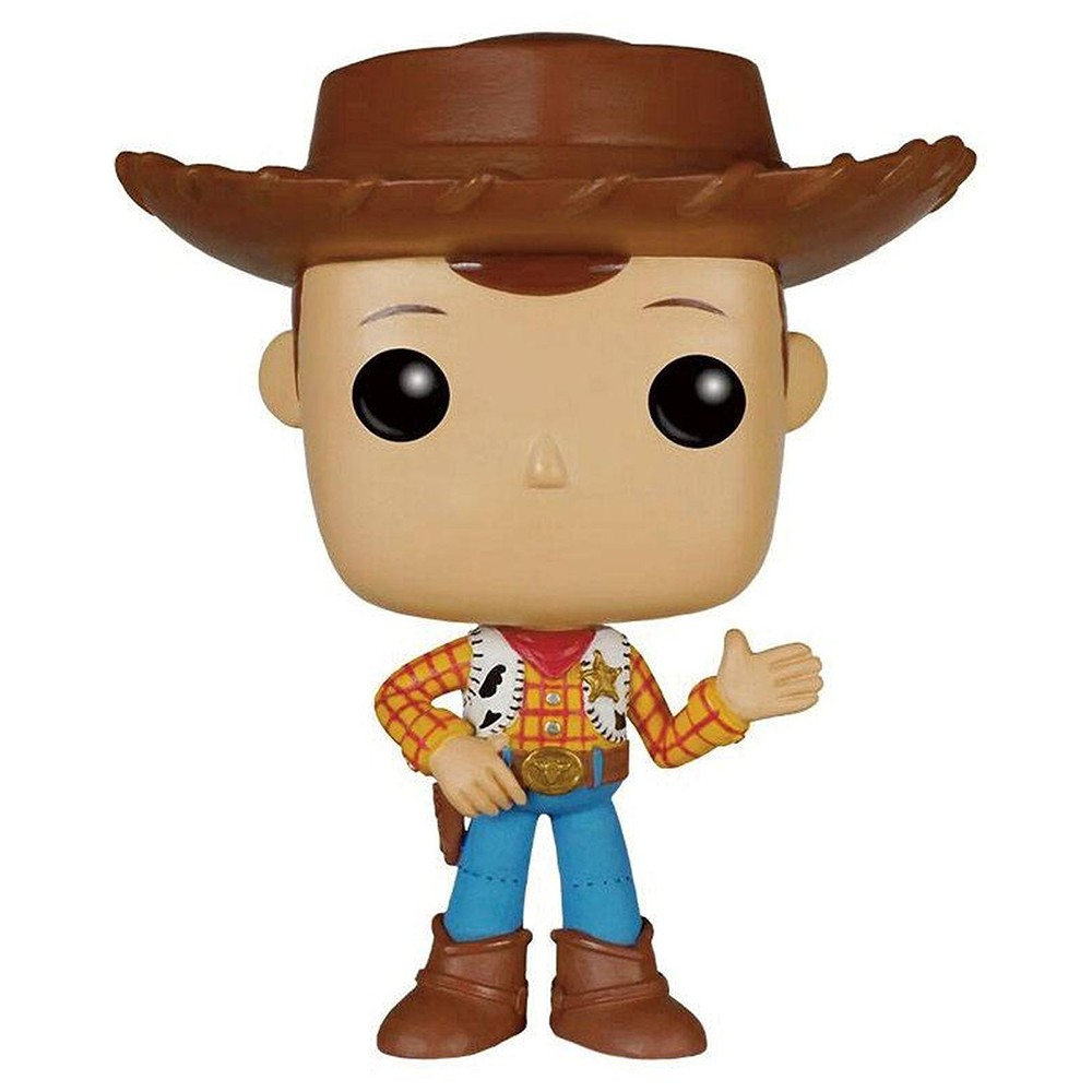 Funko Pop Disney Toy Story - Woody 168 (Caixa Avariada)