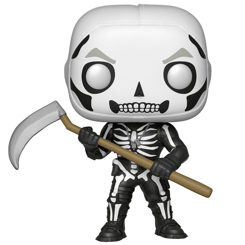 Funko Pop Fortnite Skull Trooper 438 Exclusivo Brilha no Escuro