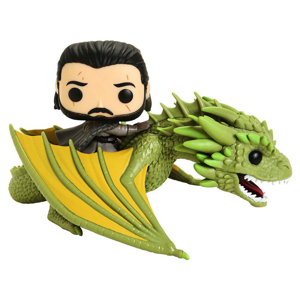Funko Pop Game of Thrones T8 - Jon Snow e Rhaegal 67