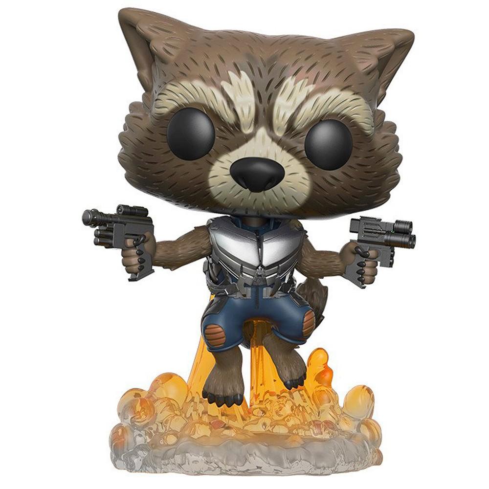 Funko Pop Guardiões da Galaxia Vol. 2 - Rocket Raccoon 201