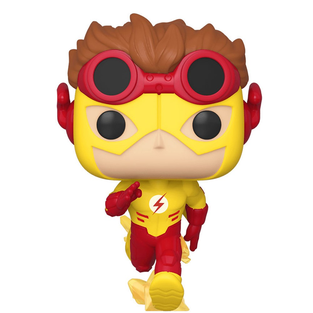 Funko Pop Heroes The Flash - Kid Flash 320 Excluiso Brilha no Escuro
