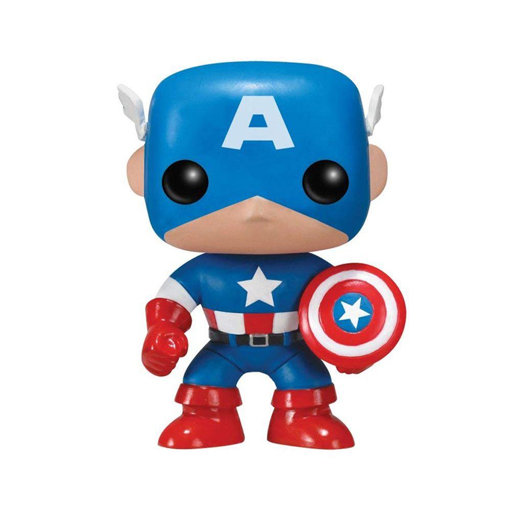 Funko Pop Marvel - Capitão América 06