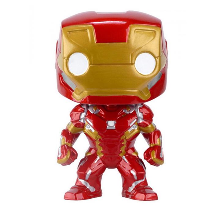 Funko Pop Marvel Capitão América: Guerra Civil - Homem de Ferro 126