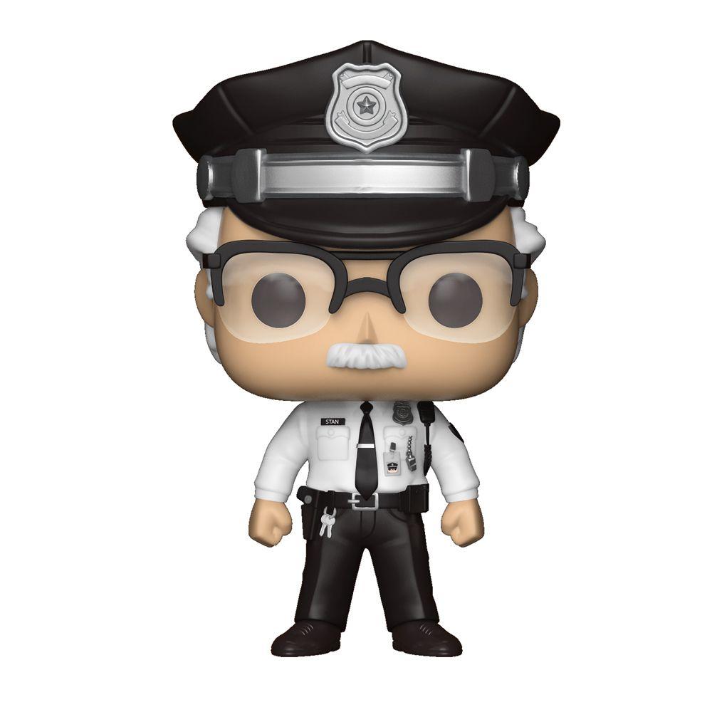 Funko Pop Marvel Capitão América - Stan Lee Guarda de Segurança Exclusivo 281