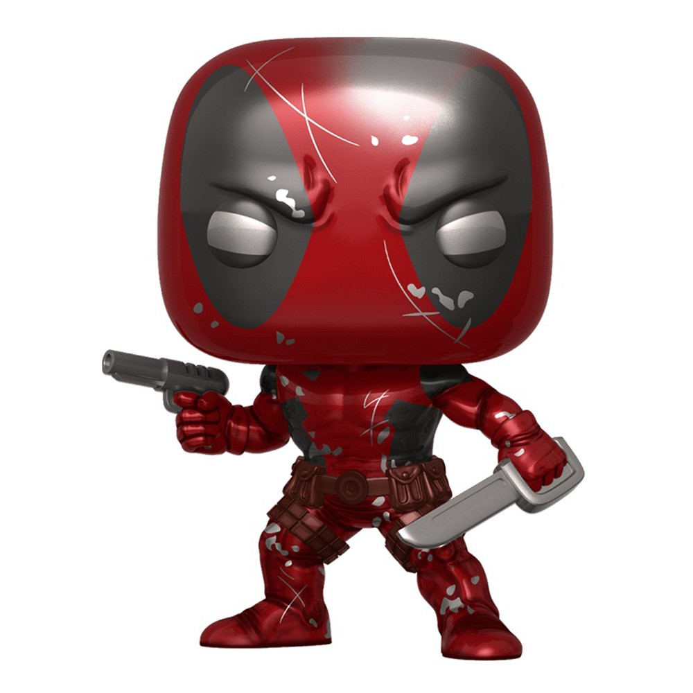 Funko Pop Marvel - Deadpool Classico Metalico 590 Exclusivo