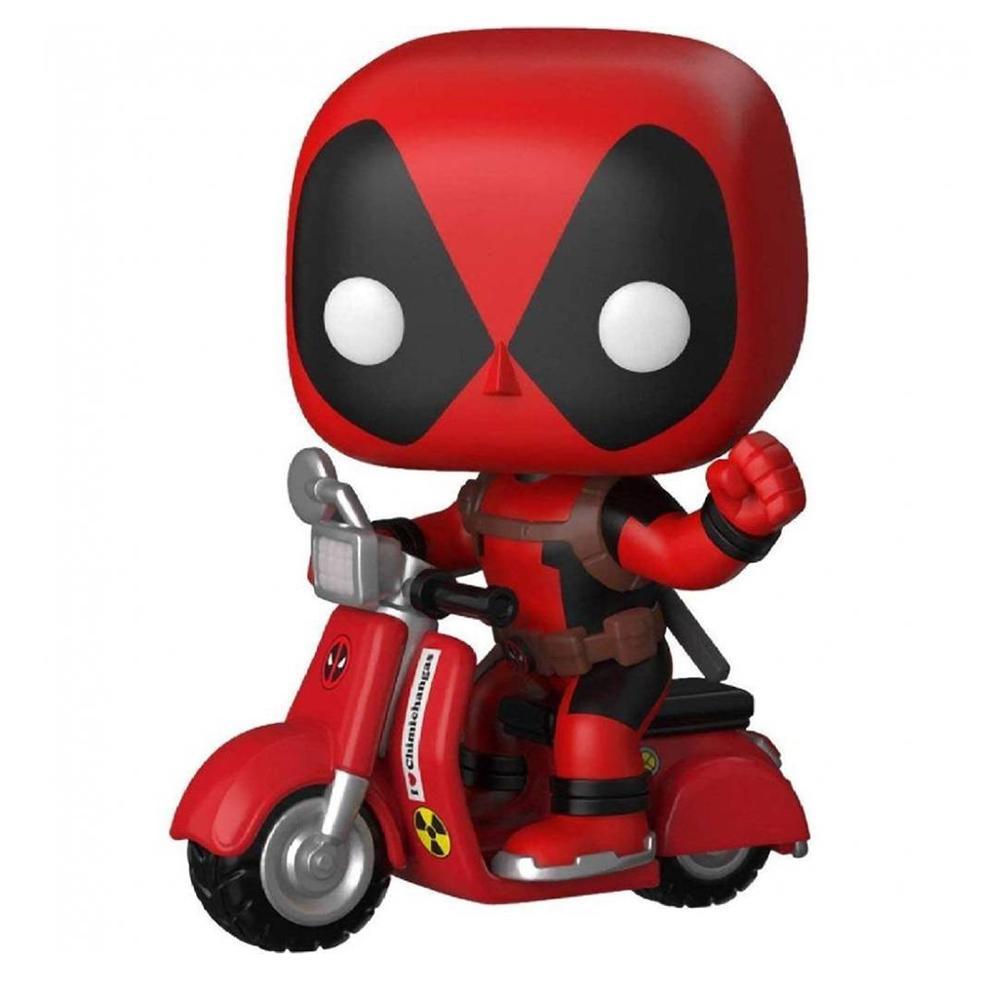 Funko Pop Marvel Deadpool - Deadpool na Scooter 48