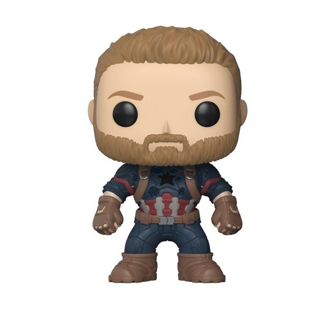 Funko Pop Marvel Guerra Infinita Capitão América 288