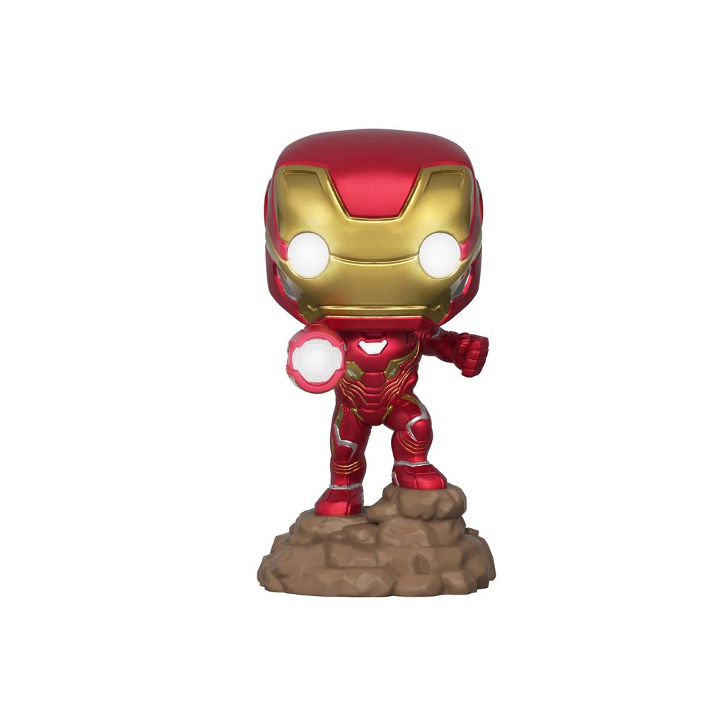 Funko Pop Marvel Guerra Infinita - Homem de Ferro 380 Exclusivo (Edição que acende)
