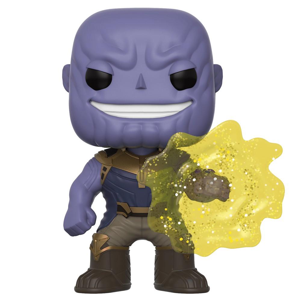 Funko Pop Marvel Guerra Infinita - Thanos Exclusivo Joia da Mente 296