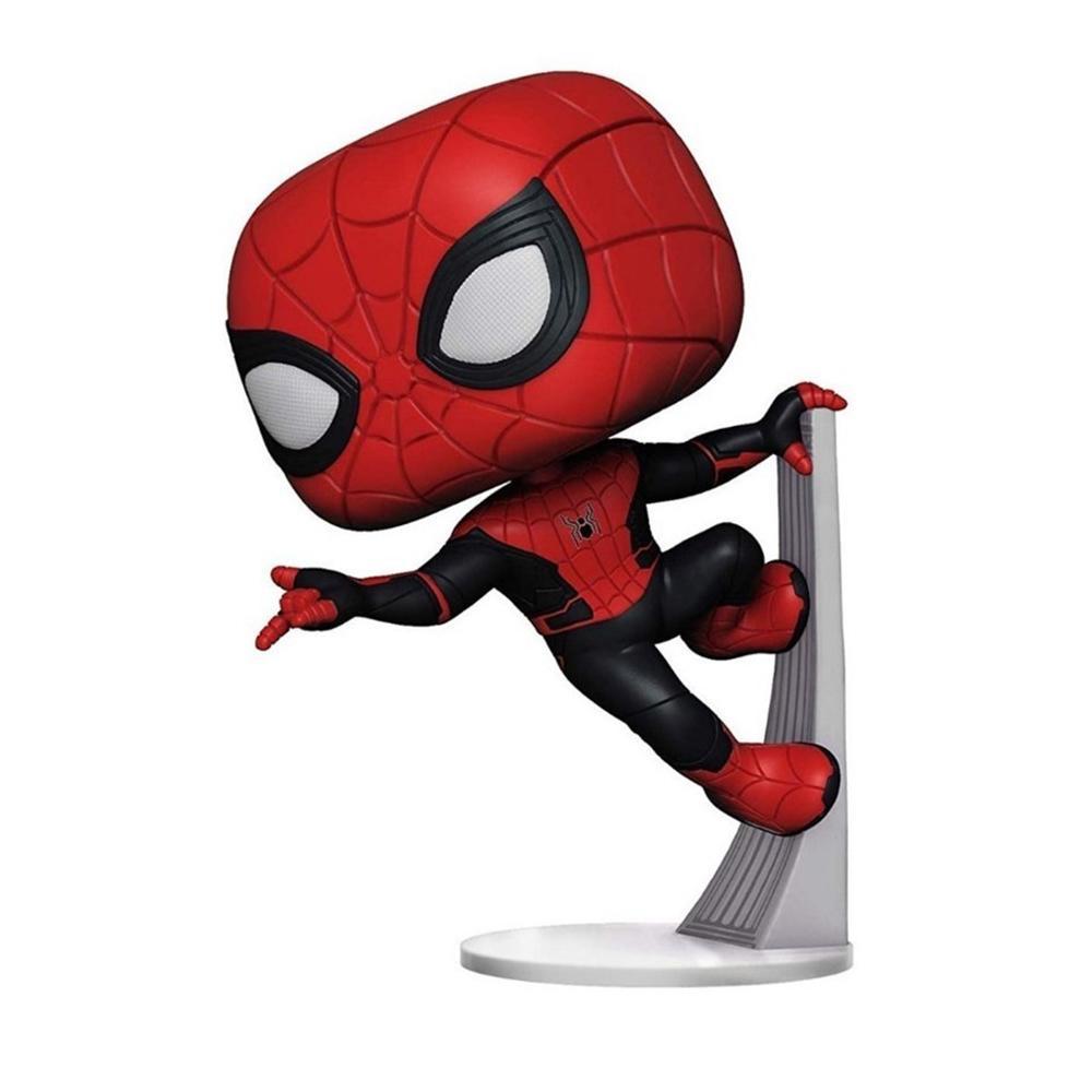 Funko Pop Marvel Homem Aranha - Homem Aranha Traje Aprimorado 470