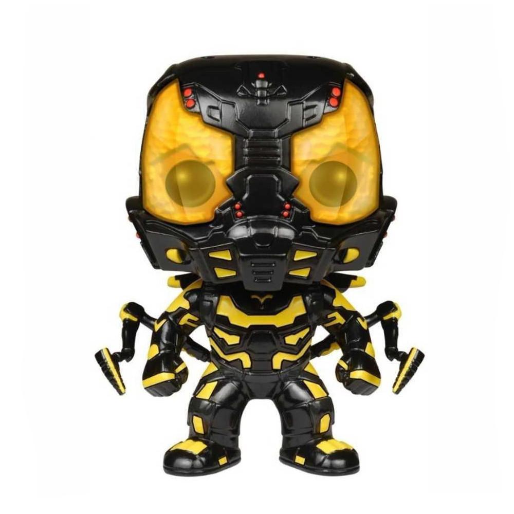 Funko Pop Marvel Homem Formiga - Jaqueta Amarela 86 (Brilha no escuro- Caixa Avariada)
