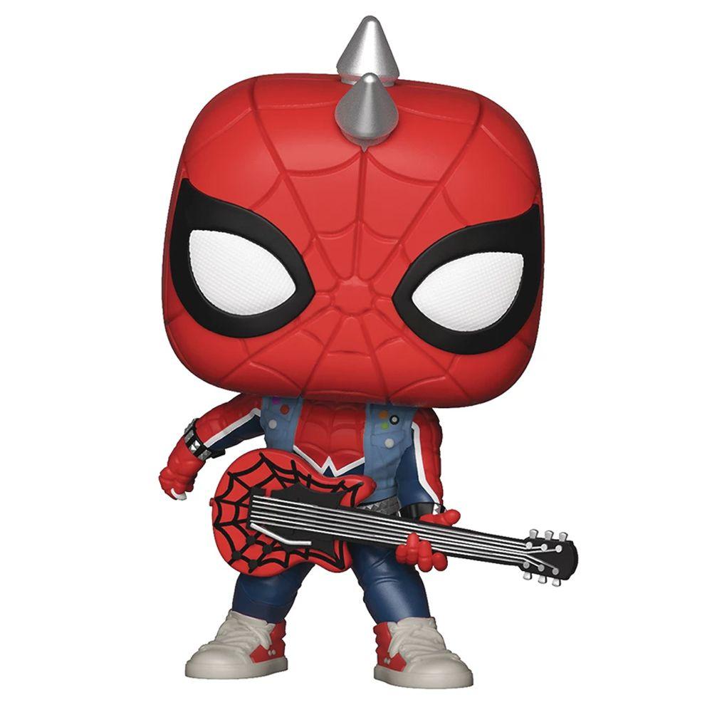 Funko Pop Marvel Spider Punk 503 Exclusivo