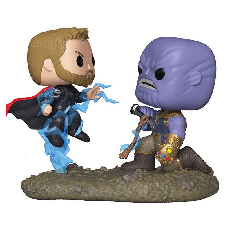 Funko Pop Marvel Vingadores Guerra Infinita Thor VS. Thanos 707