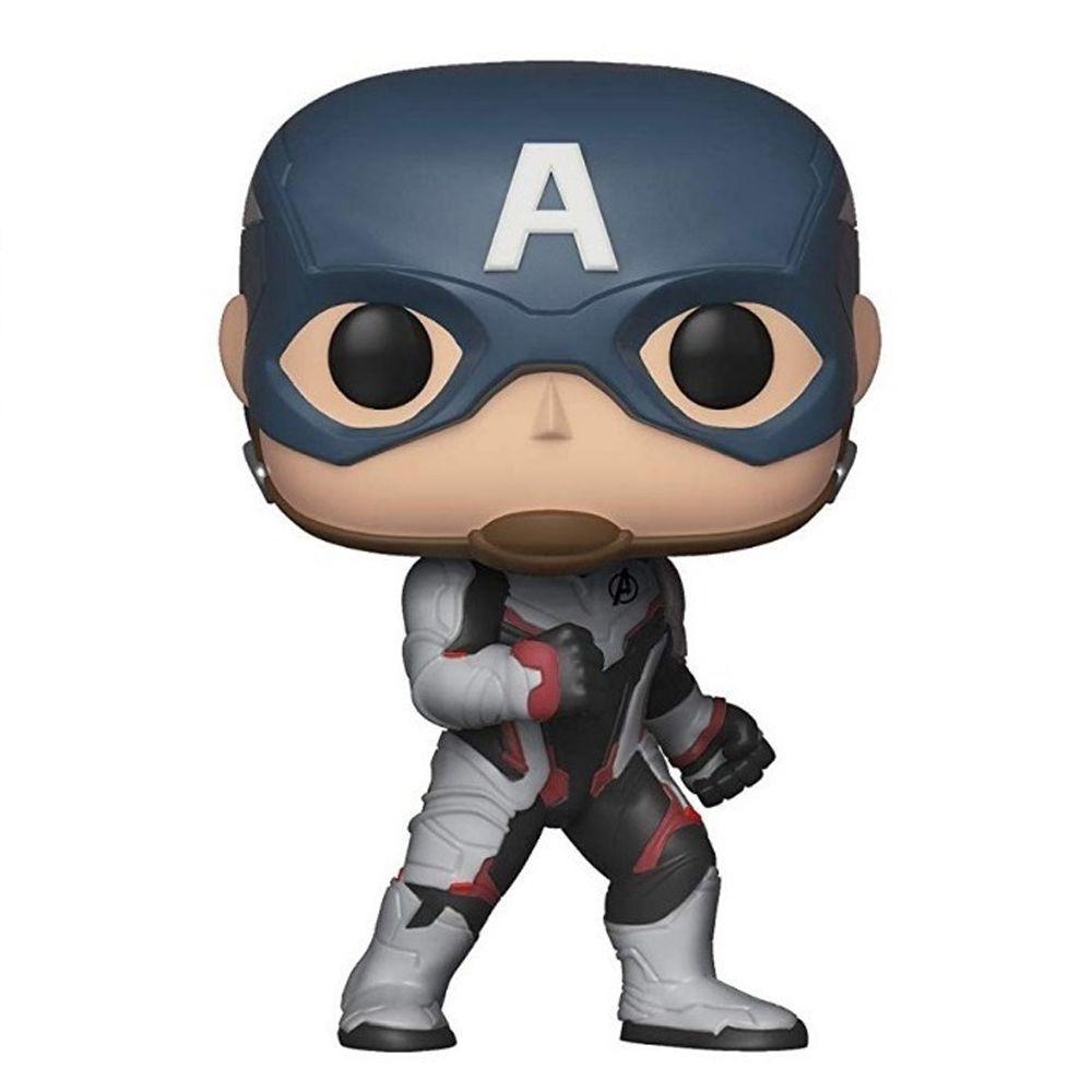 Funko Pop Marvel Vingadores Ultimato Capitão América 450