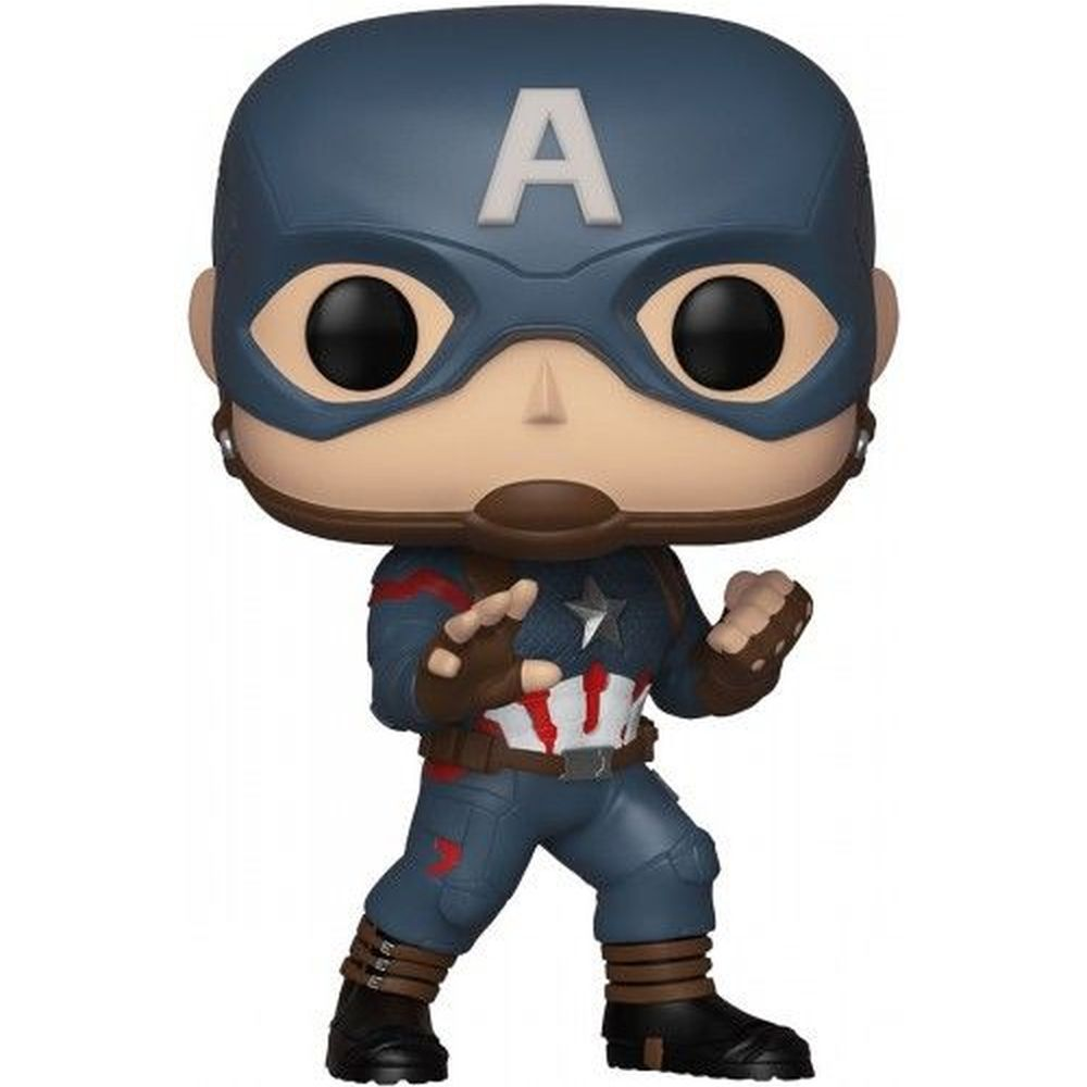 Funko Pop Marvel Vingadores Ultimato - Capitão América Exclusivo 464