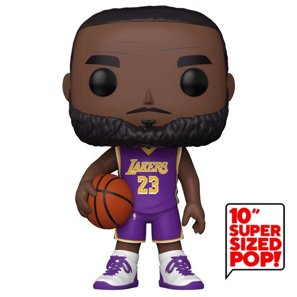 Funko Pop NBA - Lakers Lebron James 98 Super Sized 10