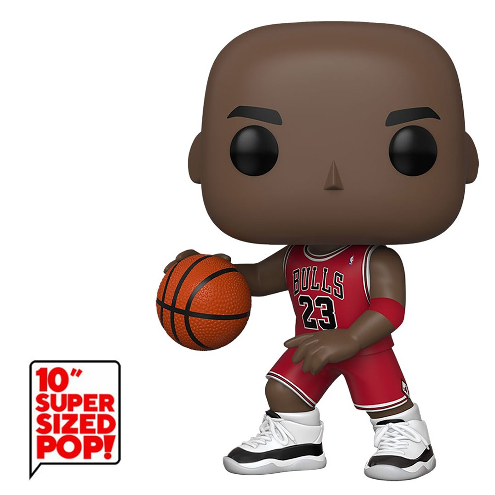 Funko Pop NBA - Michael Jordan Chicago Bulls 75 Super Sized 10
