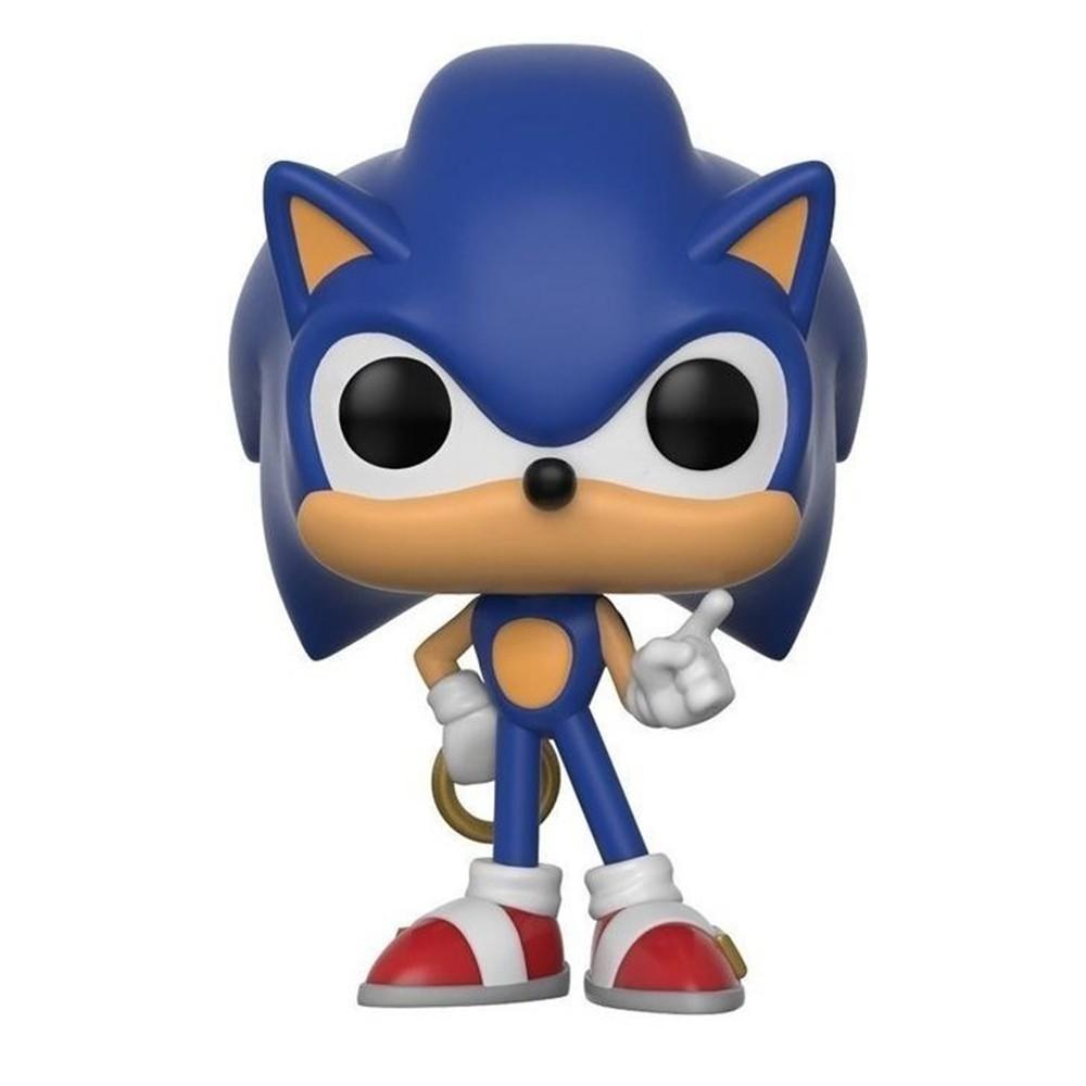Funko Pop Sonic - Sonic com Anel 283