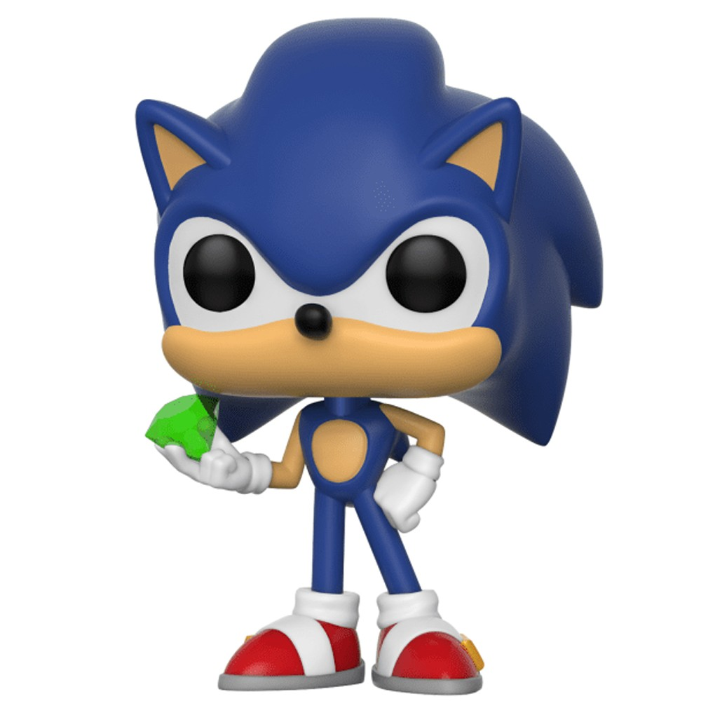 Funko Pop Sonic - Sonic Wiyh Emerald 284