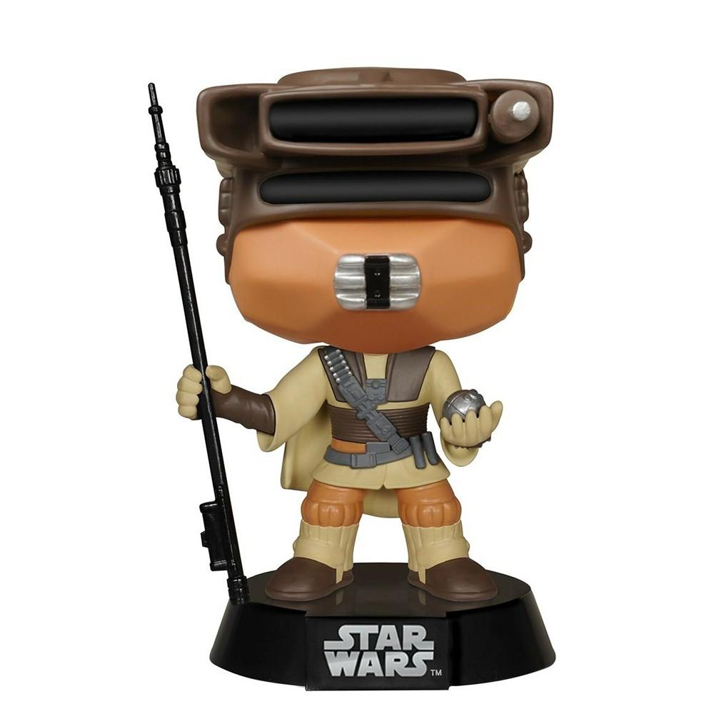 Funko Pop Star Wars - Princesa Leia em Traje Boushh 50(Caixa Avariada)